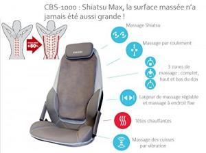 Un programme de massage personnalisé à domicile avec le Homedics cbs1000